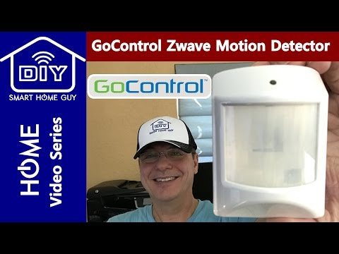 REVIEW: GoControl WAPIRZ-1 Z Wave Indoor Motion Sensor Installation and Setup - Occupancy Detection