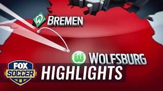 Werder Bremen vs. VfL Wolfsburg | 2016–17 Bundesliga Highlights by FOX Soccer