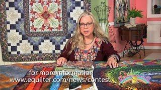 Luana Rubin discusses Fabric Topics at Quilting Arts TV.