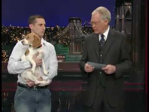 Letterman   Stupid Pet Tricks Playing Dead