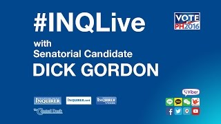 #INQLive with Dick Gordon