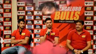 Pro kabaddi Bengaluru Bulls Team in a chit chat with Nagpurinfo