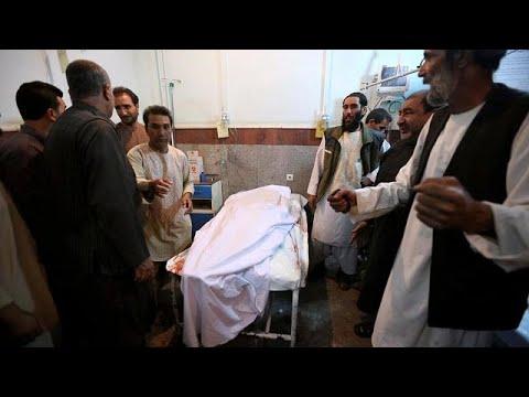 Μακελειό από βομβιστή αυτοκτονίας σε τέμενος στο Αφγανιστάν