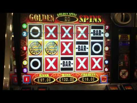 50 free spins £500 jackpot golden spins slots BIG WIN