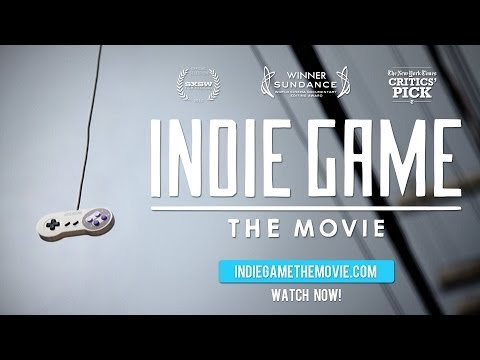 INDIE GAME: THE MOVIE - TRAILER  (ARABIC)
