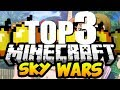 Minecraft: TOP 3 Servidores SkyWars 1.8.X (Pirata/Original) - SEM LAG!