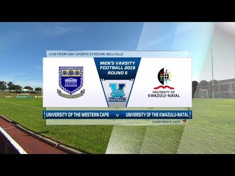 Varsity Football | UWC v UKZN | Highlights