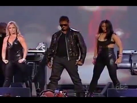 Usher Love In This Club live on Jimmy Kimmel 2008