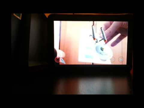 Video of Star Trek AR augmented reailty