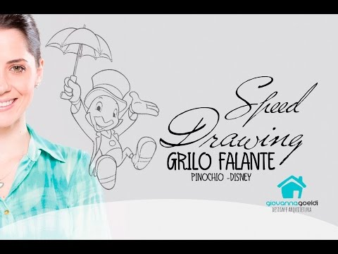 Speed Drawing Grilo Falante
