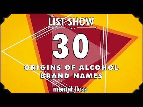 Download 30 Origins of Alcohol Brand Names - mental_floss List Show Ep. 519 HD Mp4 3GP Video and MP3