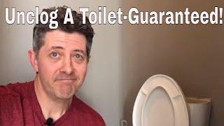 Video Unclog A Toilet-3 Different Ways Guaranteed! MP3, 3GP, MP4, WEBM, AVI, FLV Agustus 2019