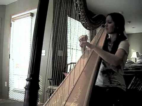 harp - apparently the recording of me playing this has been going around on tumblr lately (paired with a gif of a raccoon strumming a sprinkler...). so yeah, that's...