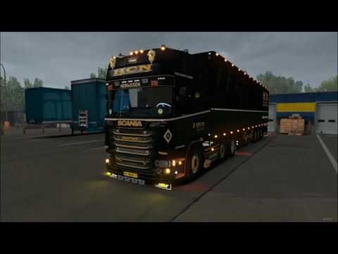 Scania R500 HCN with Schmitz Trailer v1.0