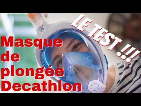 [Test & Avis] Masque de plongée Decathlon Easybreath, le top pour les débutants !!!