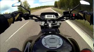 3. Yamaha Fz1 Turbo with 315hp on the highway Top speed