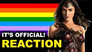 Wonder Woman Queer aka Bisexual REACTION by Beyond The Trailer