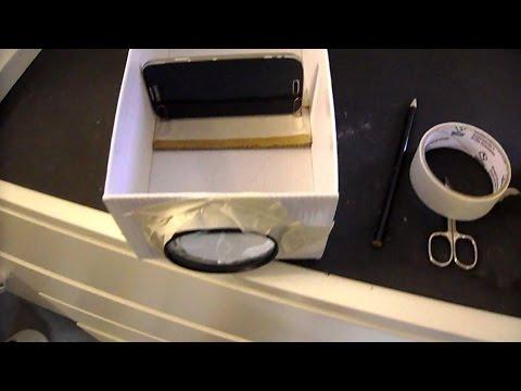 DIY Smartphone Beamer selber bauen - geht ganz einfach