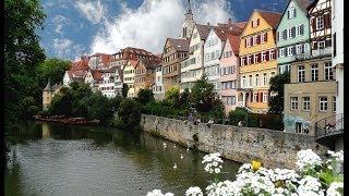 Ciudad universitaria de Tübingen en Alemania