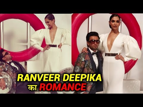 Deepika Padukone Ranveer Singh ROMANTIC MOMENTS At