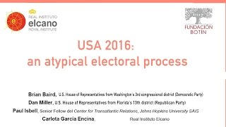 Madrid, 24 October 2016. The US and the whole world are attending one of the most atypical, controversial and contested...