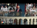 Sights And Sounds Of Donald Trump's Presidential Inauguration   NBC Nightly News