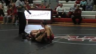 Dakota Miller (Odessa) vs. Matt Blessing (Warrensburg) 120 lbs