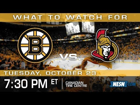 Video: Bruins Look To Kick Canada Blues In Road Trip Finale vs. Senators