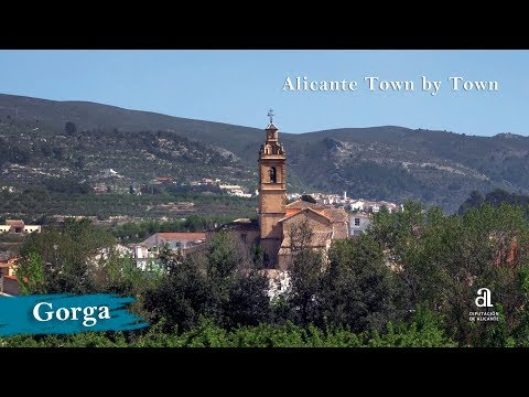 GORGA. Alicante, Town by Town.
