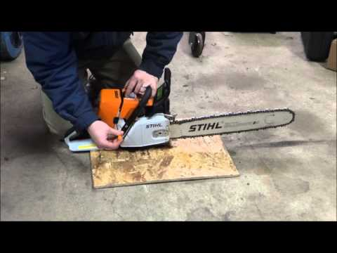 Tuning a stock Stihl MS460