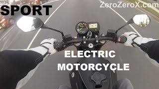 7. Electric Motorcycle. GoPro Hero Footage On The Brammo Empulse. Test Ride. Review. Specs.