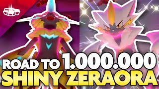 SHINY ZERAORA and the Road to 1 MILLION! Max Raid Monday in Pokemon Sword and Shield by aDrive