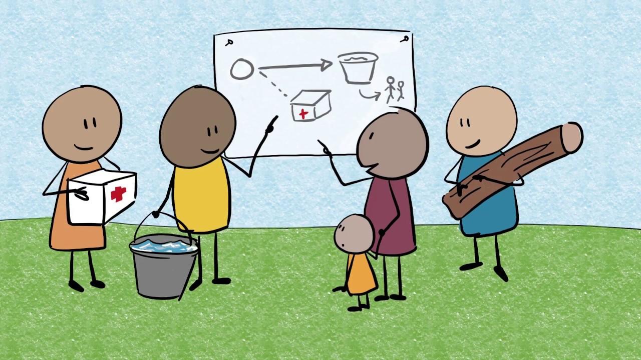 أهمية إشراك المجتمع المحلي خلال الأزمات الانسانية