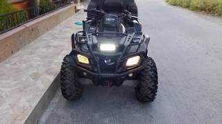 8. 2009 Can-Am Outlander MAX 800R EFI XT