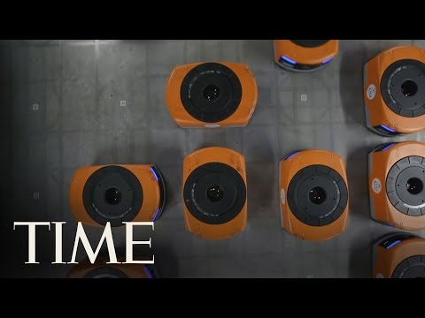 See the Robots Who Ship Your Amazon Packages | TIME