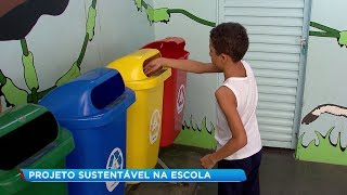 Agudos: alunos aprendem na escola e ensinam para os pais como descartar lixo corretamente