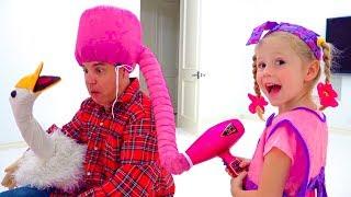 Download Video Настя и папа играют в сюжетные игры MP3 3GP MP4