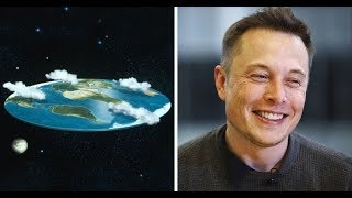 Elon Musk Destroys The 'Flat Earth Society' With A Single Question!!