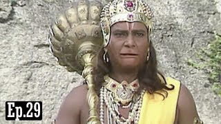 Subscribe to this channel and stay tuned:http://bit.ly/UltraBhaktiJai Hanuman  Bajrang Bali  Hindi Serial - Full Episode 29Directed & Produced By Sanjay KhanMusic Director : Ravindra JainHanuman is the first Super Hero of mankindHe is the most popular God among the Hindus, an ardent devotee of Sri Ram.Hanuman is stronger than the strongest. Obstacles cease to exist in his presence. He is the vanquisher of all evil and the source of hope for all mankind. The show focuses on the story of his life since childhood, bringing out his qualities and deriving morals from his life which are relevant in day-to-day life.