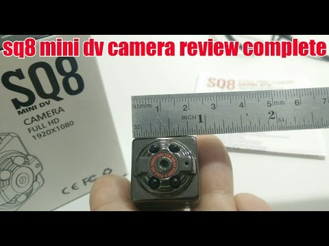 sq8 mini dv 1 INCH FULL HD new 2016 camera sample review complete video