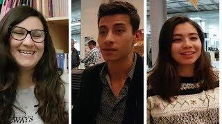 Tres estudiantes de México, Colombia e Italia cuenta cómo su experiencia de vivir en Villa María.Lee más en este link ► http://villamariavivo.com/tres-cosas-que-sorprenden-a-los-extranjeros-que-llegan-a-villa-maria/