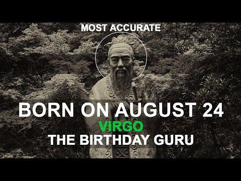 Born On August 24 | Birthday | #aboutyourbirthday | Sample | #birthdaygurutribemember