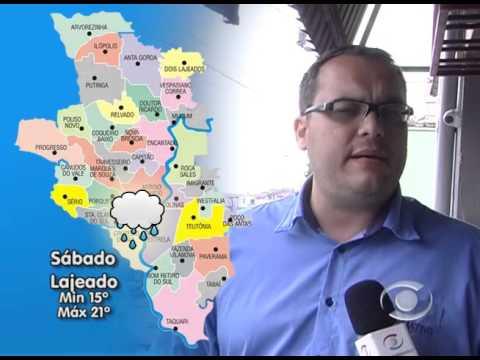 Vídeo Previsão do Tempo 02 10 2015