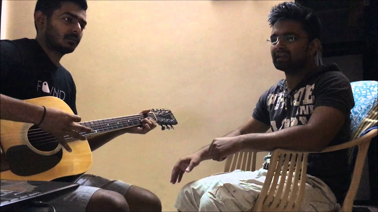Guitar cover of some bollywood songs !! The making