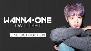 Video Wanna One (워너원) - Twilight [Line Distribution] MP3, 3GP, MP4, WEBM, AVI, FLV Maret 2018