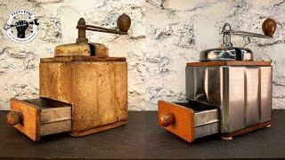 Video Rusted Coffee Grinder - Restoration MP3, 3GP, MP4, WEBM, AVI, FLV Juli 2019