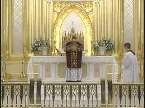 Mass - Watch the entire DVD here: http://www.youtube.com/user/FSSPTraining Father Calvin Goodwin, Fraternity of Saint Peter (FSSP; http://www.fssp.org/ ), commentat...