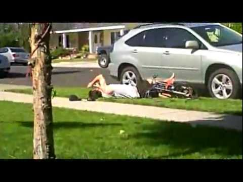 Faceplant Off Mini Bike