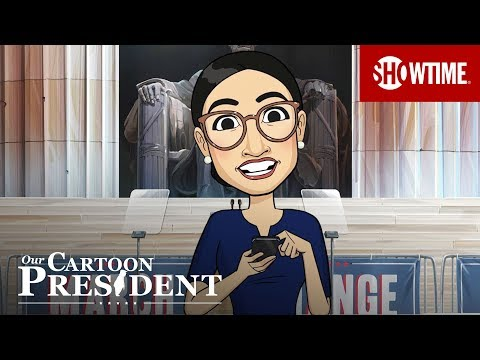 Our Cartoon President Season 2 (2019) Teaser Trailer   Stephen Colbert SHOWTIME Series