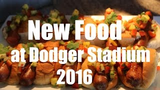 Executive Chef Jason Tingley makes a presentation to a group of bloggers showcasing some of the new food options at Dodger Stadium for 2016. Featured foods and locations:King's Hawaiian Dog: Extreme Loaded Dogs- 248, 421, 736Gouda Kobe Burger: Elysian Park Grill- 222, 223, 422, 747, 748Chicken Verde Sandwich: Healthy Cart- P420, P738; AMPM: 201;      Marketplace: 205; Tony's Stand: 420Shock Top Bratwurst: Think Blue BBQ- 251 (Grill Area Only)Specialty Nachos Verde: TBDSmoked BBQ Wings Bundle: Think Blue BBQ- 251Read me at http://dodgersdigest.com/author/stacie-wheeler/  and  http://www.hardballtimes.com/author/s...Follow me @organicallyrude on https://twitter.com/organicallyrude and https://www.instagram.com/organically...Subscribe to DishingUpTheDodgers!Go Blue!
